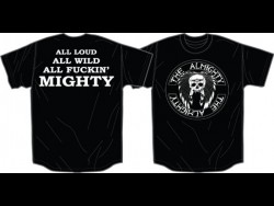 The Almighty Logo Black s/s T-Shirt